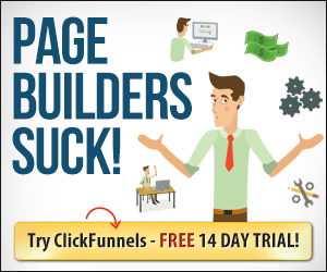 Click Funnels Trial Advert