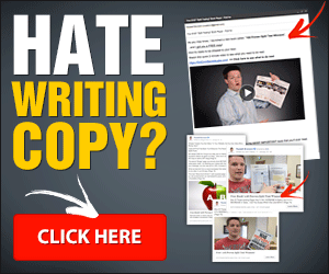 Hate writing copy? Click Here!